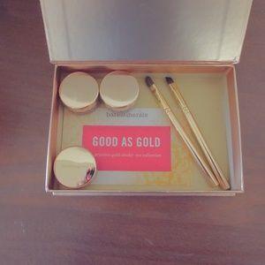Bare Escentuals box of gold, NIB